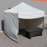 Accessories for pop up tents
